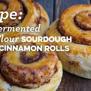 Long-Fermented Sourdough Cinnamon Rolls.