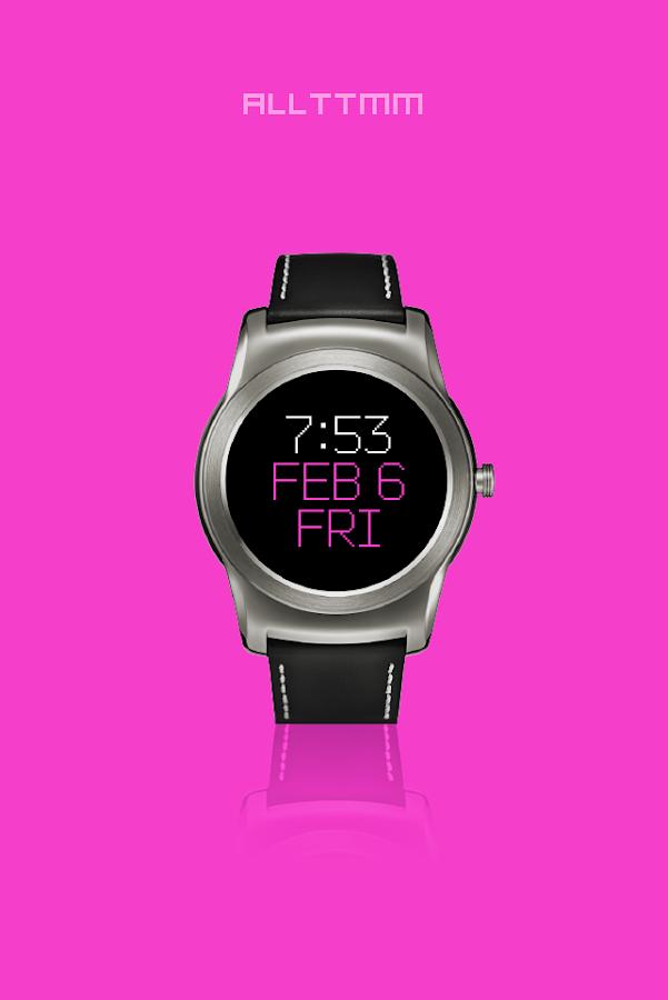 ALLTTMM - Wear watch face