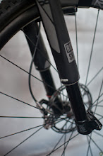 Photo: Spring Break for the Bike Industry with racing, rides, and an expo. Here's Rock Shox's inverted fork.