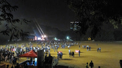 Photo: Pravega '15 Crowd after the event gets over @ IISc.