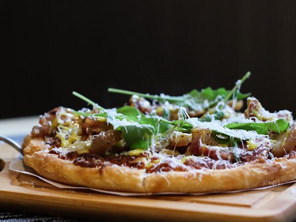 Pizza界的LV,頂級酥香餅皮顛覆Pizza口感,義大利米蘭手工窯烤披薩