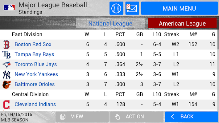 MLB Manager 2016- screenshot