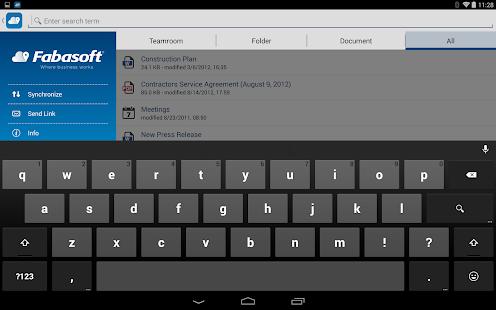 Fabasoft Cloud- screenshot thumbnail