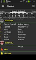 Screenshot of Football Bundes - UNOFFICIAL