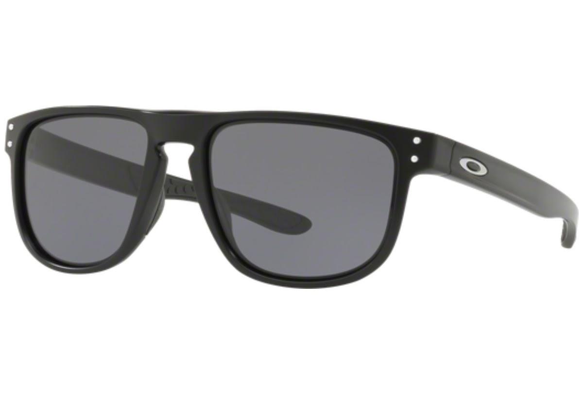 Oakley Herren Sonnenbrille »HOLBROOK R OO9377«, schwarz, 937702 - schwarz/schwarz
