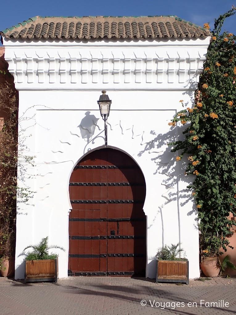 Marrakech - Museo ive saint logain