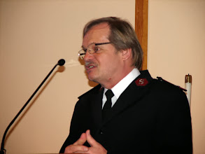 Photo: Major Larry Wittendberg of the Salvation Army