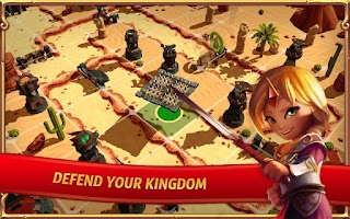 Screenshot of Royal Revolt 2