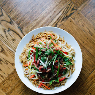 Chinese Lucky Noodle Stir-Fry.