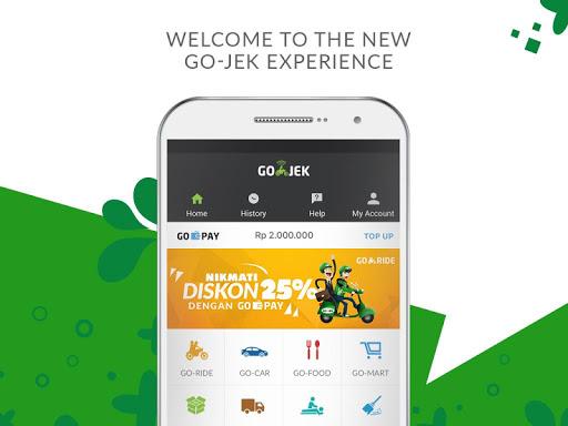GO-JEK app (apk) free download for Android/PC/Windows screenshot
