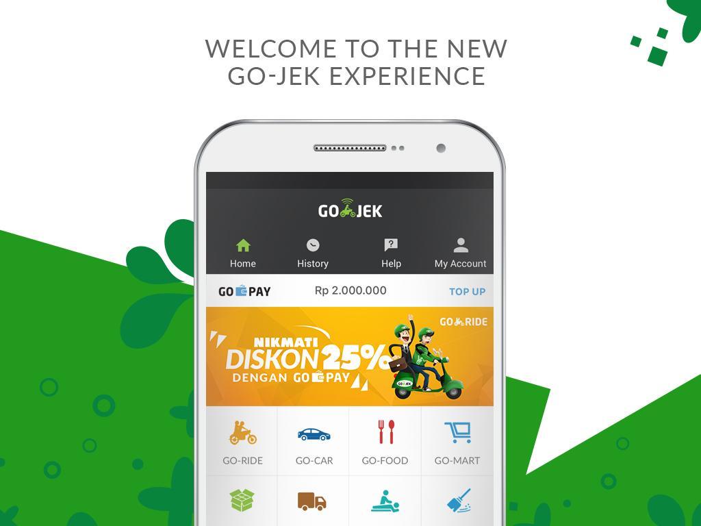 Screenshots of GO-JEK for iPhone