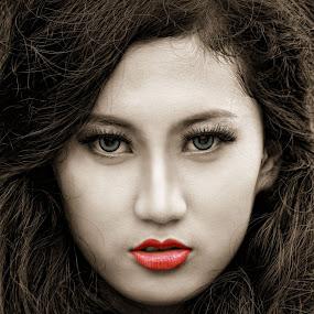 by Adhetja Atmadja Wardana - People Portraits of Women