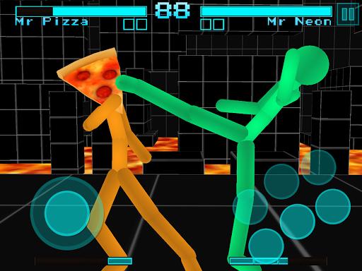 Stickman Fighting: Neon Warriors 1.05 screenshots 10