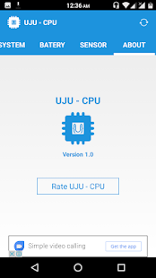 UJU - CPU- screenshot thumbnail