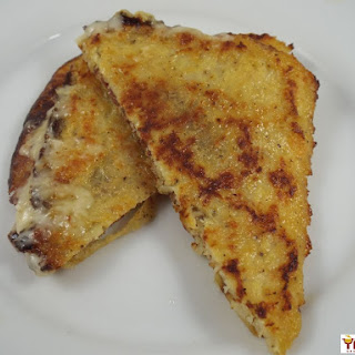 Mini Cauliflower Grilled Cheeses Recipe