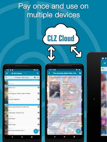 CLZ Comics - Comic Database Screenshot