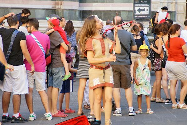 Per le strade di Firenze di cesare carusio