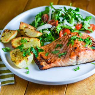 Scotch Whisky Glazed Salmon