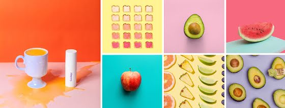 Fruity Collage - Facebook Page Cover Template