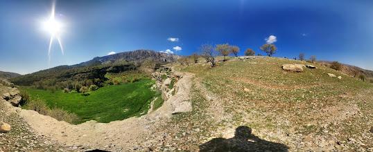Photo: Behind Razianeh Gorge Ilam, Iran مناظر پشت تنگه رازیانه، ایلام