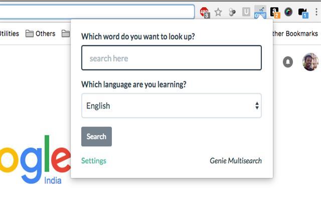 Genie Multisearch