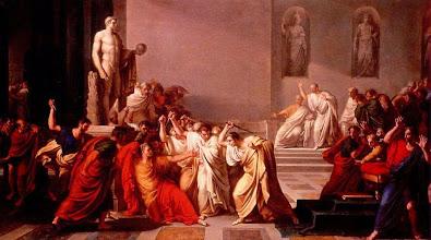 """Photo: Vincenzo Camuccini, """"Morte di Cesare"""", 1798,"""