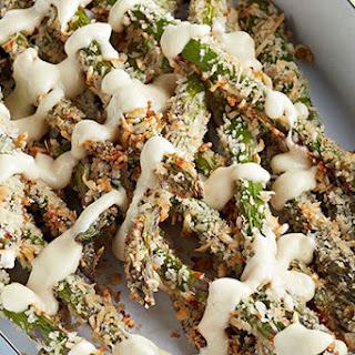 Crunchy Asparagus with Creamy Lemon Aioli
