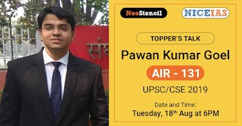 UPSC Topper Interview: Pavan Kumar Goel, AIR 131 (CSE-2019)