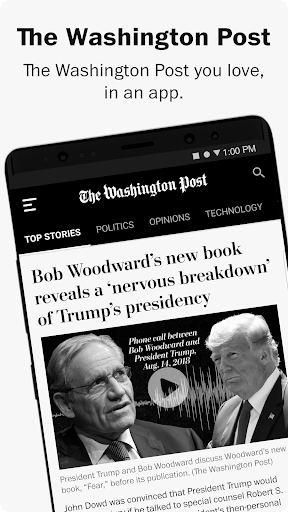 The Washington Post screenshot 1