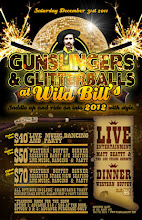 Photo: Gunslingers & Glitterballs at Wild Bill's Legendary Saloon  New Year's Eve party.