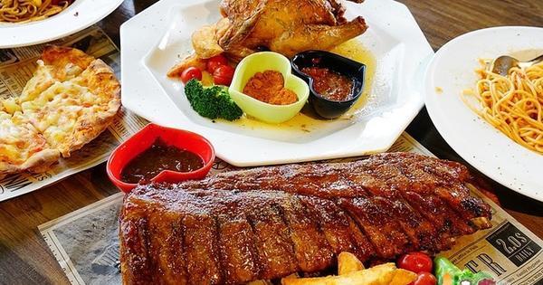 豪華分享餐 烤全雞、炙烤豬肋排 吮指美味就在喬義思窯烤手作廚房 (楠梓店)