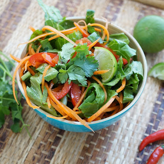 Spicy Thai Salad.
