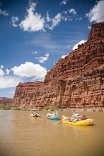 Photo: Whitewater rafting in Cataract Canyon in Canyonlands National Park, UT.