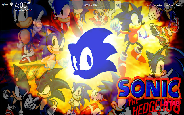 Sonic The Hedgehog Wallpapers HD Theme