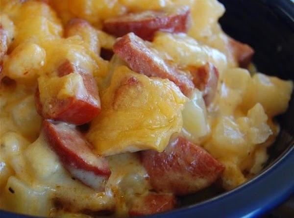 Cheese Potato And Smoked Sausage Casserole Recipe
