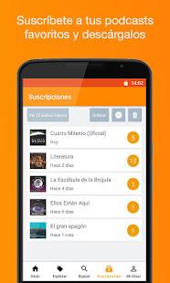 Podcast & Radio iVoox - Aplicaciones en Google Play