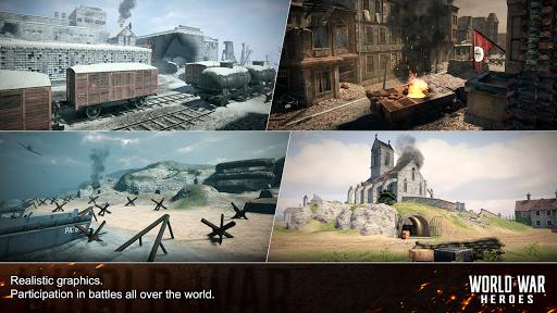 World War Heroes: WW2 FPS Shooting games! 1.6.3 screenshots 14