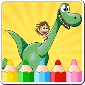 Coloring Book for Dinosaur Go