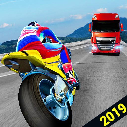 Highway Traffic Rider 2019 - Bike Racing Game 3D