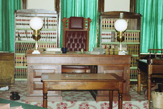 Photo: Fort Smith - The Judge in the court