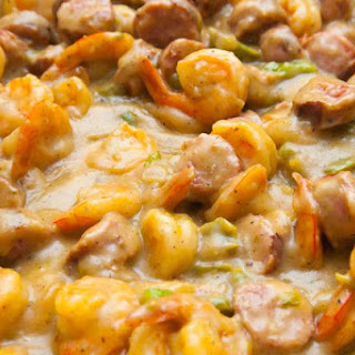 Easy Shrimp and Cheese Grits