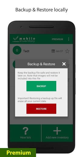 Mobile Inventory 4.6.5 - Breithorn - pr screenshots 7