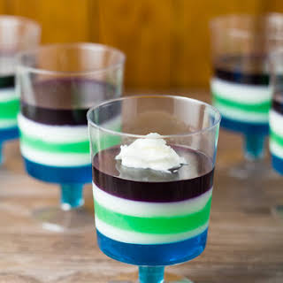 Jello Dessert Cups.