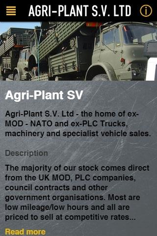 Agri-Plant SV- screenshot