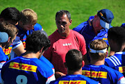 Paul Treu (Defence Coach) during the DHL Stormers training session and top table media conference at High Performance Centre on April 16, 2018 in Cape Town, South Africa.