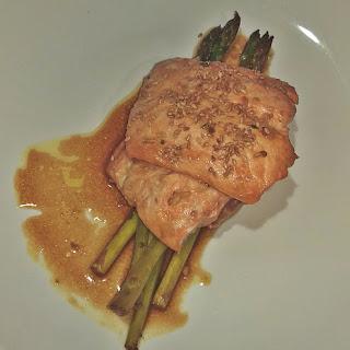 Asian Salmon & Asparagus