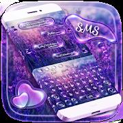 SMS Shimmer Lavender Keyboard