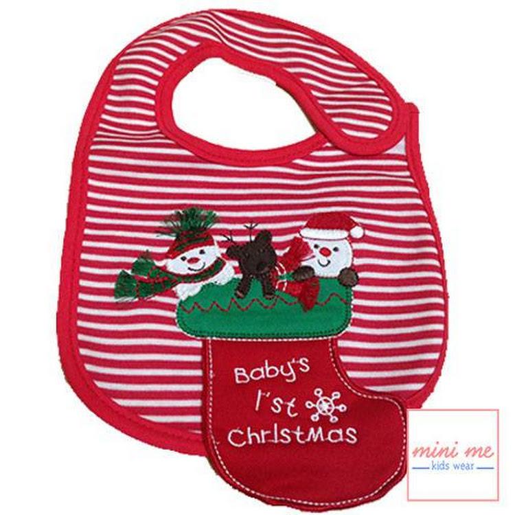 Baby Bib - 1st Christmas by Stylo Kids Trading