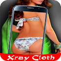xray cloth camera prank icon