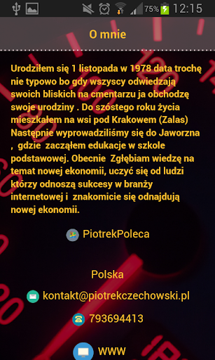 Piotrek Czechowski  screenshots 2